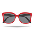 sunglasses cartoon glasses for protection from vector image vector image