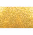 abstract background texture golden glitter vector image
