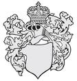 aristocratic emblem no30 vector image vector image