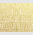 gold geometric abstract pattern background vector image vector image