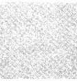 grunge texture on white background black abstract vector image vector image