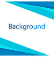 modern blue white background design image vector image
