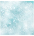 Soft and blurry pastel blue Winter Christmas patt vector image vector image