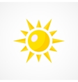 Sun Icon Sign vector image