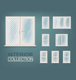 Windows Photorealistic Set vector image