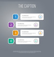 icon work set of hierarchy structure corporate vector image