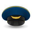 professional uniform cap 03 vector image
