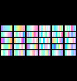 set of colorful gradients vector image