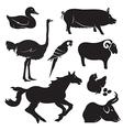 Farm group vector image