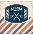 Barber shop design hair salon Stylist icon vector image