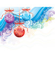 christmas ornate vector image