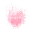 i-love-you vector image