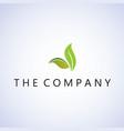 leaf logo ideas design on