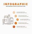 packaging branding marketing product bottle vector image