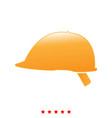 safety helmet it is icon vector image