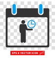 Time Manager Calendar Day Eps Icon vector image vector image