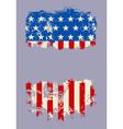 Grunge USA Flag Banner vector image