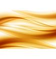 beautiful gold satin drapery background soft vector image