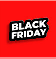 black friday text effect in 3d style background