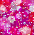 Bubbly fun background vector image vector image