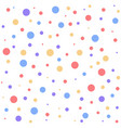 color dot pattern vector image