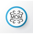 design icon symbol premium quality isolated mam vector image vector image