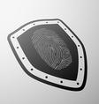 fingerprint Stock vector image vector image