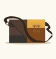 Retro style briefcase business vector image vector image