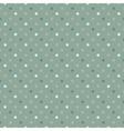 seamless polka dot pattern cold gree gamut vector image