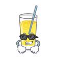 super cool lemonade character cartoon style vector image vector image