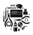 vape service vector image vector image
