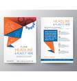 Abstract Triangle Brochure Flyer design Layout