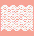 abstract wave seamless pattern stylish geometric vector image vector image