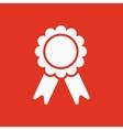 award icon achievement symbol flat