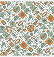 civil aviation concept seamless pattern vector image vector image