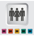 Group sex sign vector image vector image
