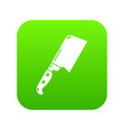knife meat icon simple black style vector image vector image