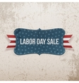 Labor Day Sale national Tag vector image vector image