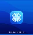 media icon application design template suitable vector image