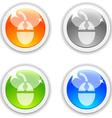 Mouse buttons vector image