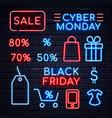 neon sales sign 2 vector image