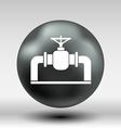 pipeline icon button logo symbol concept vector image vector image