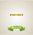 realistic bubble level element vector image