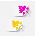 realistic design element parsley dill vector image