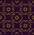 seamless texture with luxury arabic ornament vector image vector image