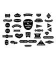 set of craftsmen badges vector image