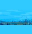 underwater landscape game background vector image