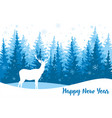 for greeting card with white vector image