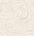 hair seamless pattern vector image