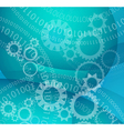 High Tech background for a variety of business vector image